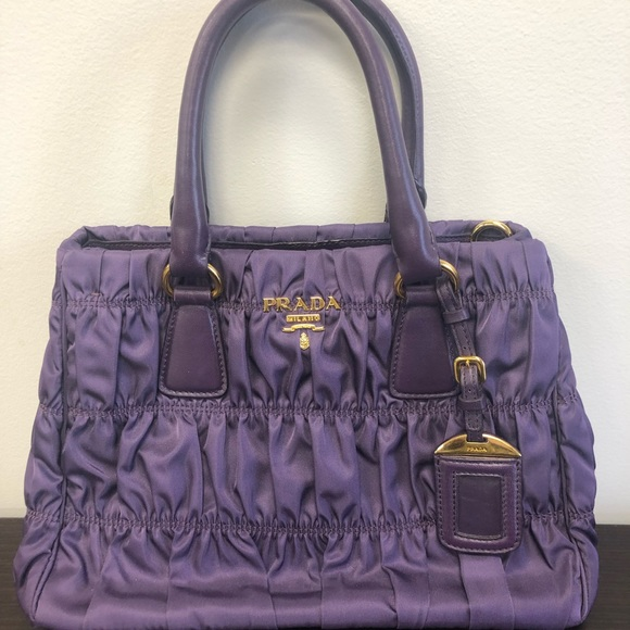 9e8b73729dfb60 Prada Bags | Never Used Authentic Hand Bag Purple | Poshmark